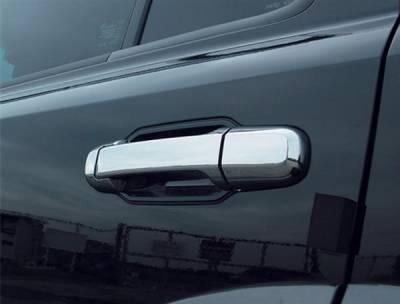 Suv Truck Accessories - Chrome Billet Door Handles - Putco - Kia Sorento Putco Door Handle Covers - 409304