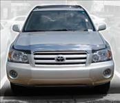 Accessories - Hood Protectors - AVS - Toyota Highlander AVS Bugflector II Hood Shield - Smoke - 25330