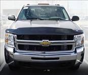 Accessories - Hood Protectors - AVS - Chevrolet Silverado AVS Bugflector II Hood Shield - Smoke - 25347