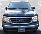 Accessories - Hood Protectors - AVS - Ford F150 AVS Bugflector II Hood Shield - Smoke - 25513