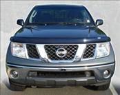 Accessories - Hood Protectors - AVS - Nissan Frontier AVS Bugflector II Hood Shield - Smoke - 25519