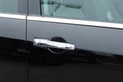 SUV Truck Accessories - Chrome Billet Door Handles - Putco - Dodge Caliber Putco Chromed Stainless Steel Door Handle Covers - 502130
