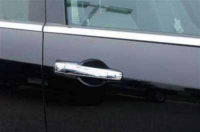 SUV Truck Accessories - Chrome Billet Door Handles - Putco - Chrysler Town Country Putco Chromed Stainless Steel Door Handle Covers - 502130