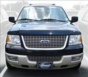 Accessories - Hood Protectors - AVS - Ford Expedition AVS Bugflector II Hood Shield - Smoke - 25627