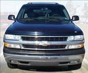 Accessories - Hood Protectors - AVS - Chevrolet Blazer AVS Bugflector II Hood Shield - Smoke - 25631