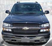 Accessories - Hood Protectors - AVS - Chevrolet Silverado AVS Bugflector II Hood Shield - Smoke - 25815