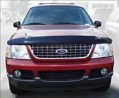 Accessories - Hood Protectors - AVS - Ford Explorer AVS Bugflector II Hood Shield - Smoke - 25903