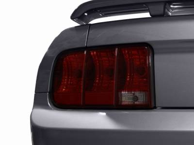 Headlights & Tail Lights - Tail Light Covers - AM Custom - Ford Mustang Smoked Taillight Tint - 26061