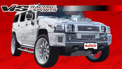 H2 - Body Kits - VIS Racing - Hummer H2 VIS Racing Bossini Full Body Kit - 03HMH24DBOSS-099