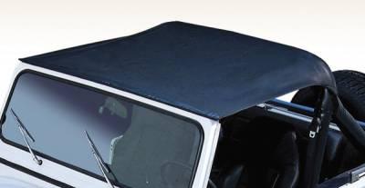 SUV Truck Accessories - Soft Tops - Omix - Rugged Ridge Summer Brief - Bikini Top - Black - 13572-01