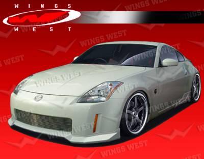 350Z - Body Kits - VIS Racing - Nissan 350Z VIS Racing JPC Type B Full Body Kit - Polyurethane - 03NS3502DJPCB-099P