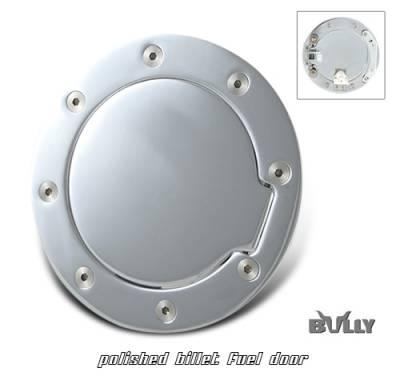 Suv Truck Accessories - Gas Caps - OptionRacing - GMC Sierra Option Racing Fuel Door Cover - 50-15104