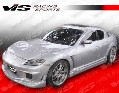 RX8 - Body Kits - VIS Racing - Mazda RX-8 VIS Racing Wings Full Body Kit - 04MZRX82DWIN-099