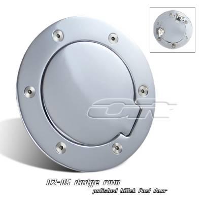 Suv Truck Accessories - Gas Caps - OptionRacing - Dodge Ram Option Racing Fuel Door Cover - 50-17105