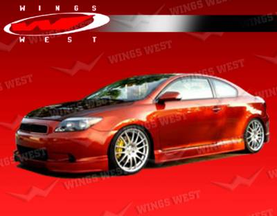 TC - Body Kits - VIS Racing - Scion tC VIS Racing JPC Full Body Kit - Polyurethane - 05SNTC2DJPC-099P