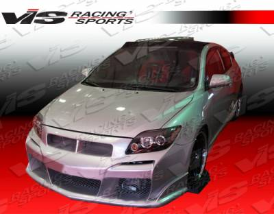 TC - Body Kits - VIS Racing - Scion tC VIS Racing Laser Full Body Kit - 05SNTC2DLS-099