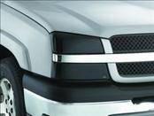 Headlights & Tail Lights - Headlight Covers - AVS - Chevrolet Silverado AVS Headlight Covers - Smoke - 2PC - 37724