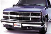Headlights & Tail Lights - Headlight Covers - AVS - GMC Sierra AVS Headlight Covers - Smoke - 4PC - 37808