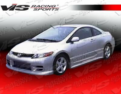 Civic 2Dr - Body Kits - VIS Racing - Honda Civic 2DR VIS Racing Terminator Full Body Kit - 06HDCVC2DTM-099
