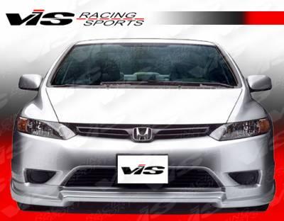 Civic 2Dr - Body Kits - VIS Racing - Honda Civic 2DR VIS Racing Touring 2 Full Body Kit - 06HDCVC2DTOU2-099