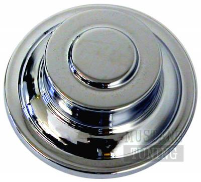 Accessories - Engine Dress Up - AM Custom - Ford Mustang Chrome Power Steering Cap Cover - 41012