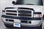 Accessories - Hood Protectors - AVS - Dodge Dakota AVS Bugflector II Hood Shield - Deluxe - Smoke - 3PC - 45057