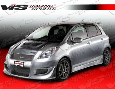 Yaris - Body Kits - VIS Racing - Toyota Yaris VIS Racing Zyclone Full Body Kit - 07TYYARHBZYC-099