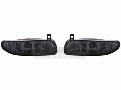 Headlights & Tail Lights - Fog Lights - AM Custom - Ford Mustang Smoked Fog Lights - 49022