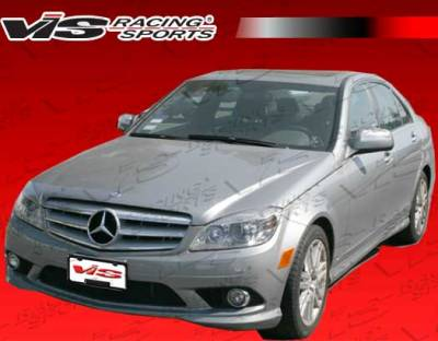 C Class - Body Kits - VIS Racing - Mercedes-Benz C Class VIS Racing Euro Tech Full Body Kit - 08MEW2044DET-099