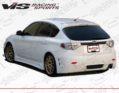 WRX - Body Kits - VIS Racing - Subaru WRX VIS Racing Z-Speed TYpe 2 Full Body Kit - 08SBWRXHBZSP2-099