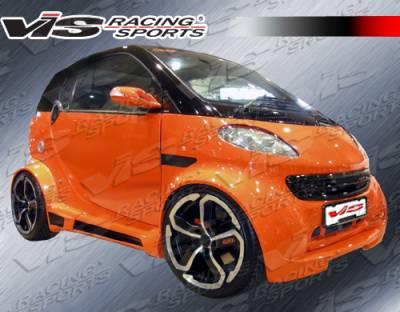 ForTwo - Body Kits - VIS Racing - Smart ForTwo VIS Racing Max Widebody Full Body Kit - 08SMFR22DMWB-099