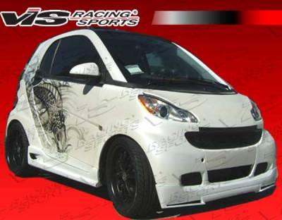 ForTwo - Body Kits - VIS Racing - Smart ForTwo VIS Racing V Max Full Body Kit - 08SMFR22DVMAX-099