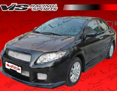 Corolla - Body Kits - VIS Racing - Toyota Corolla VIS Racing GT Widebody Full Body Kit - 09TYCOR4DGTWB-099