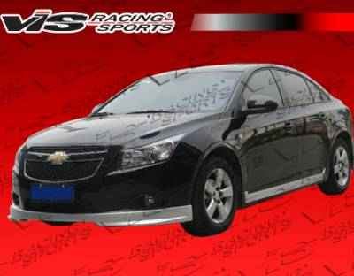 Cruze - Body Kits - VIS Racing - Chevrolet Cruze VIS Racing VIP Full Body Kit - 11CHCRU4DVIP-099