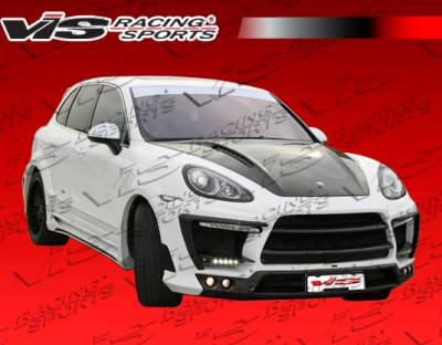 Cayenne - Body Kits - VIS Racing - Porsche Cayenne VIS Racing Lux Design Full Body Kit - 11PSCAY4DLUX-099