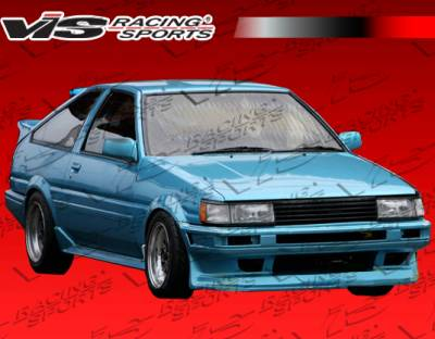 Corolla - Body Kits - VIS Racing - Toyota Corolla VIS Racing Monster Full Body Kit - 84TYCORHBMON-099