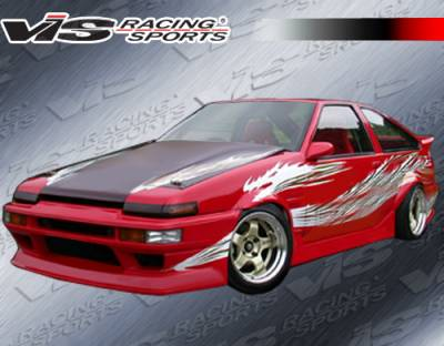 Corolla - Body Kits - VIS Racing - Toyota Corolla VIS Racing RF Full Body Kit - 84TYCORHBRF-099