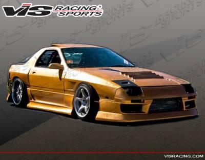 RX7 - Body Kits - VIS Racing - Mazda RX-7 VIS Racing B Speed Full Body Kit - 86MZRX72DBSP-099