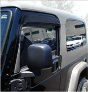 Accessories - Wind Deflectors - AVS - Jeep Wrangler AVS Ventvisor Deflector - 2PC - 92054