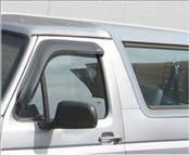 Accessories - Wind Deflectors - AVS - Ford Bronco AVS Ventvisor Deflector - 2PC - 92068