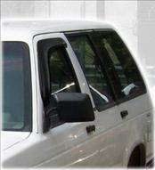 Accessories - Wind Deflectors - AVS - Chevrolet Blazer AVS Ventvisor Deflector - 2PC - 92099