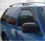 Accessories - Wind Deflectors - AVS - Chevrolet Blazer AVS Ventvisor Deflector - 2PC - 92127