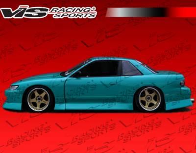 S13 - Body Kits - VIS Racing - Nissan S13 VIS Racing B Speed Widebody Full Body Kit - 89NSS132DBSPWB-099