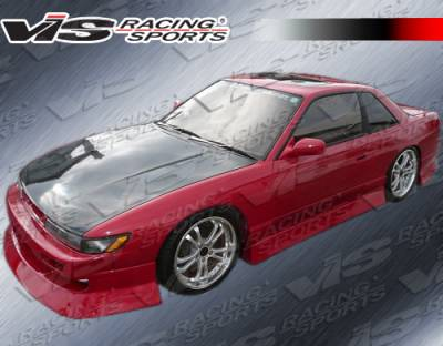 S13 - Body Kits - VIS Racing - Nissan S13 VIS Racing V-Spec Type-4 Full Body Kit - 89NSS132DVSC4-099