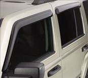 Accessories - Wind Deflectors - AVS - Jeep Wrangler AVS Ventvisor Deflector - 2PC - 92328