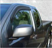 Accessories - Wind Deflectors - AVS - Nissan Frontier AVS Ventvisor Deflector - 2PC - 92436
