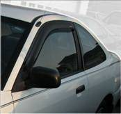 Accessories - Wind Deflectors - AVS - Mitsubishi Mirage 2DR AVS Ventvisor Deflector - 2PC - 92437