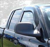 Accessories - Wind Deflectors - AVS - Dodge Dakota AVS Ventvisor Deflector - 2PC - 92438