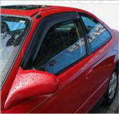 Accessories - Wind Deflectors - AVS - Honda Civic 2DR AVS Ventvisor Deflector - 2PC - 92602