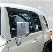 Accessories - Wind Deflectors - AVS - Toyota FJ Cruiser AVS Ventvisor Deflector - 2PC - 92735